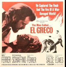 Affiche de El Greco, film de Luciano Salce, 1966