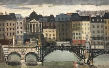 Paris Prekas. Paris 1963, huile sur toile.