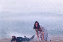 Bruno Ganz et Isabelle Renauld dans Eternité et un jour de Théo Angelopoulos (1998)
