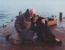 Manos Katrakis et Dora Volanaki dans Voyage à Cythère