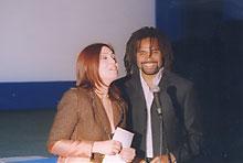 Avec Christian Karembeu