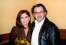 En compagnie du co-producteur grec de Triple agent, Giannis Soulis