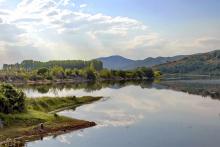 Vue du lac de Kerkini