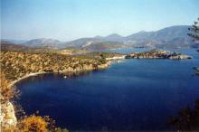 La baie de de Gera