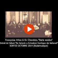 Françoise Atlan et En Chordais