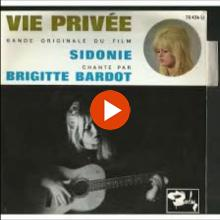 Brigitte Bardot, Sidonie, Single 1962